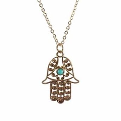 ネックレス ハムサの手ネックレスby mayabracelets