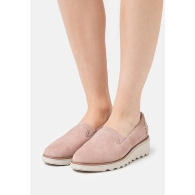 クラークス レディース 靴 シューズ SHARON DOLLY - Slip-ons - dusty pink