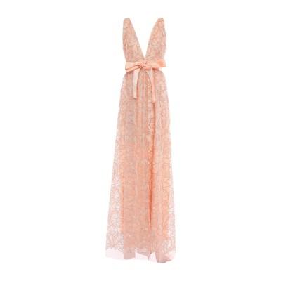 W LES FEMMES by BABYLON ロングワンピース&ドレス パステルピンク 44 ナイロン 100% ロングワンピース&ドレス