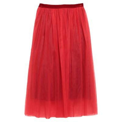 アニヤバイ ANIYE BY ロングスカート レッド M ナイロン 100% / アセテート / ポリウレタン ロングスカート