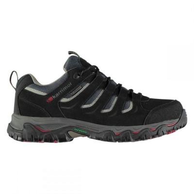 カリマー KARRIMOR メンズ ハイキング・登山 シューズ・靴 mount low waterproof hiking shoes BLACK