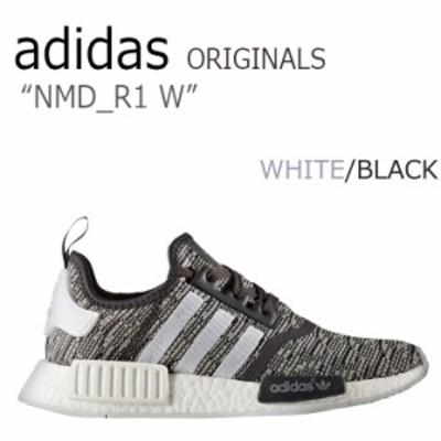アディダス スニーカー adidas originals レディース NMD_R1 Wmns エヌエムディーR1 WHITE ホワイト ブラック BY3035 シューズ