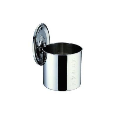 UK18−8目盛付 キッチンポット 8cm 7-0205-0101
