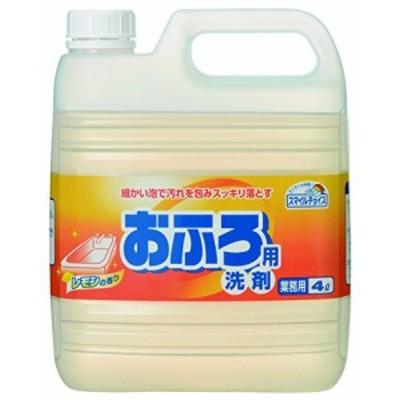 スマイルチョイス おふろ用洗剤 業務用 4L