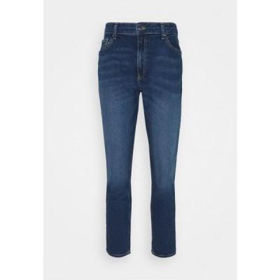 レディース ファッション Jeans Skinny Fit - dark blue denim
