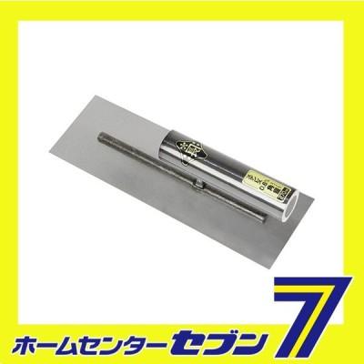 ステン角鏝 0.6MM 270MM リベットレス 藤原産業 [大工道具 左官鏝 角鏝]