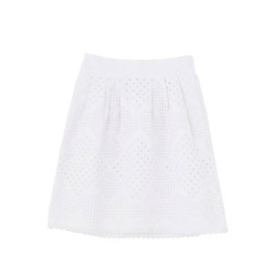 【公式】MERCURYDUO(マーキュリーデュオ)カットワークレーススカート
