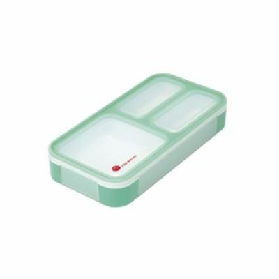 薄型弁当箱 フードマンミニ ミントグリーン 4571347175035 弁当箱 お弁当 薄型 弁当 ランチボックス[▲][CB]