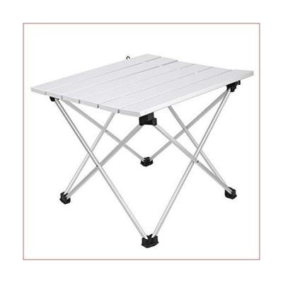 新品SANON Camping Table,Aluminum Alloy Table, Foldable Table