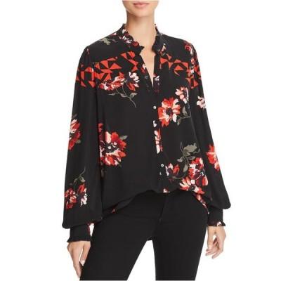 レディース 衣類 トップス Joe's Womens Romia Floral Button Up Shirt ブラウス&シャツ