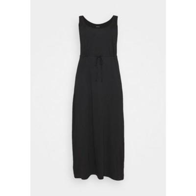 レディース ドレス Maxi dress - black