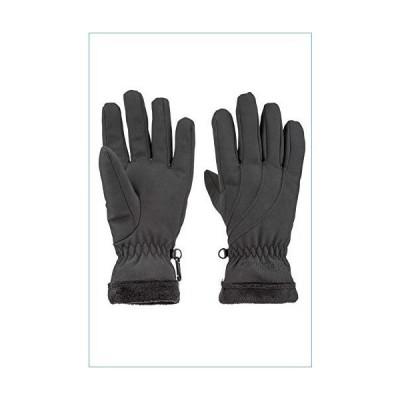 Marmot Women's Fuzzy Wuzzy Gloves (Small, Black)並行輸入品