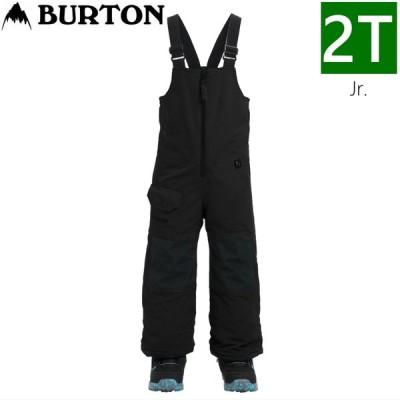 19-20 [2Tサイズ] BURTON MS MAVEN BIB PNT カラー:TRUE BLACK キッズ ジュニア 子供用 ウェア スノーボード スキー 雪遊び 日本正規品
