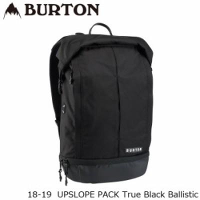 バートン バッグ 18-19 BURTON UPSLOPE PACK True Black Ballistic バックパック 日本正規品
