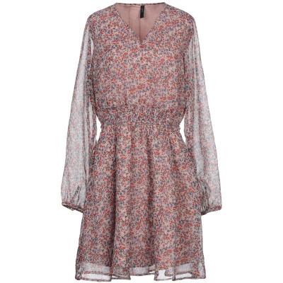 Y.A.S. ミニワンピース&ドレス パステルピンク L ポリエステル 100% ミニワンピース&ドレス