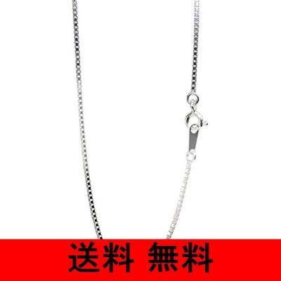 新宿銀の蔵 シルバー ベネチアンチェーン 長さ40〜80cm (80cm) 幅1.2mm シルバー 925 ロング ネックレス チェーン ネックレス