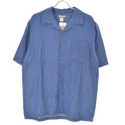 BREAK WATER リネン 半袖シャツ