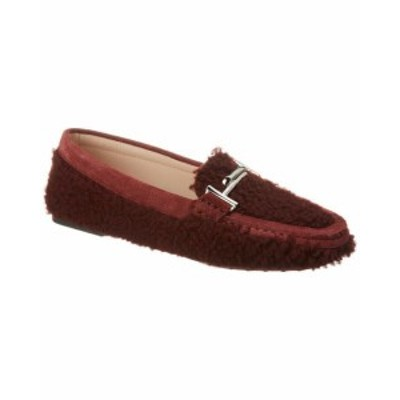Tods トッズ シューズ シューズ/サンダル Tods Double T Shearling Loafer