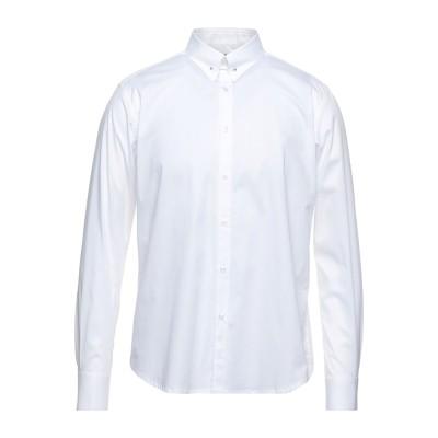 メッサジェリエ MESSAGERIE シャツ ホワイト 41 コットン 97% / ポリウレタン 3% シャツ