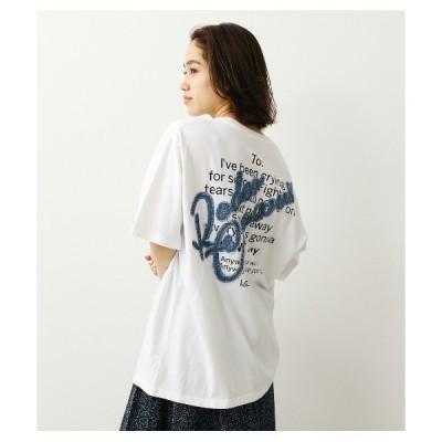 tシャツ Tシャツ デニムスクリプトポケットTシャツ