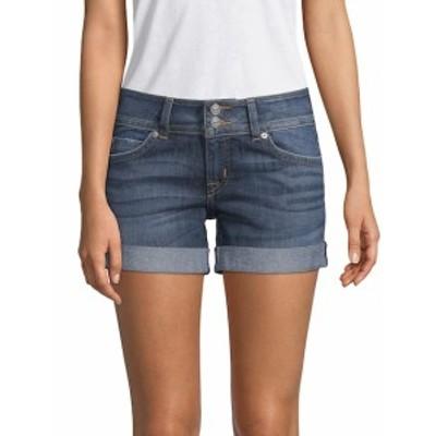 ハドソン レディース パンツ Mid-Thigh Denim Shorts