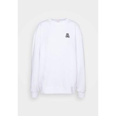 フューゴ パーカー・スウェットシャツ レディース アウター DASHIMARA - Sweatshirt - white