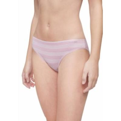 カルバンクライン レディース パンツ アンダーウェア Form Cotton Bikini Trible Stripe