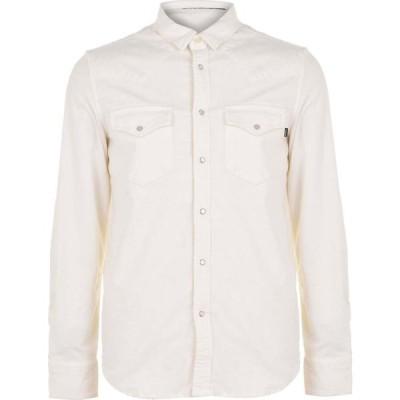 ディーゼル DIESEL メンズ シャツ トップス cord shirt Cream