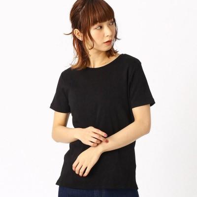 コムサイズム COMME CA ISM ベーシック Tシャツ (ブラック)
