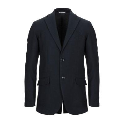 HYBRID SENSOR® by FLEXJAPAN テーラードジャケット ダークブルー 50 ポリエステル 100% テーラードジャケット