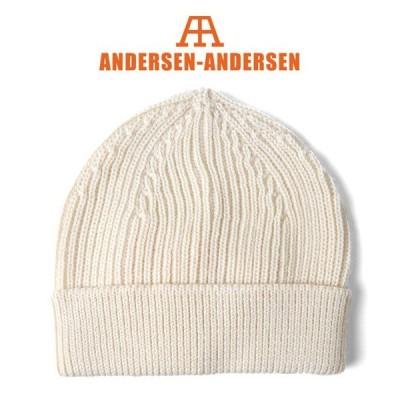 ANDERSEN-ANDERSEN アンデルセン アンデルセン ビーニー ニットキャップ 5GG ニット帽子 メンズ レディース