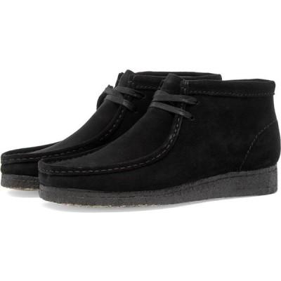 クラークス Clarks Originals レディース ブーツ シューズ・靴 wallabee boot w Black Suede