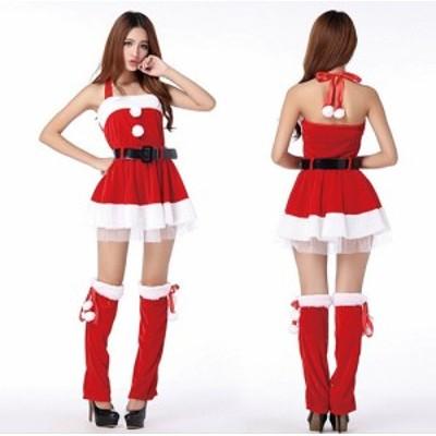 短納期 サンタ コスプレ クリスマス衣装 サンタコス サンタ サンタコスチューム セクシー サンタコスチューム 大きいサイズ