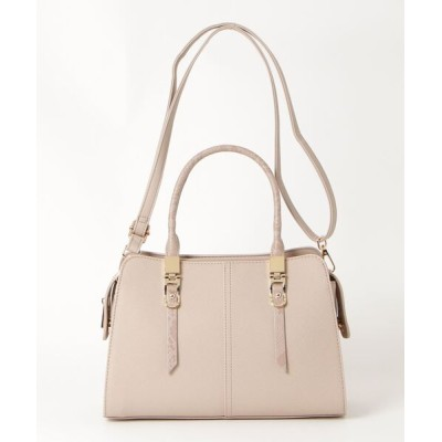 TAKA-Q / *エムエフエディトリアルレディース/m.f.editorial:Women ハンドル飾り付きハンドバッグ WOMEN バッグ > ハンドバッグ