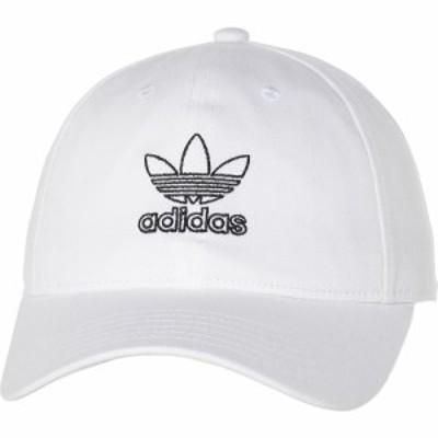 アディダス adidas レディース キャップ 帽子 originals relaxed baseball cap White/Black