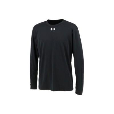 UNDER ARMOUR アンダーアーマー TS ロングスリーブ シャツ ブラック [1314087] (トレーニング エクササイズ スポーツウェア)