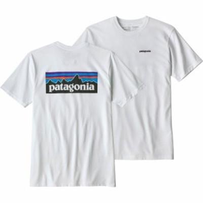 【即納】パタゴニア Patagonia メンズ Tシャツ トップス P-6 Logo Responsibili-Tee T-Shirt White