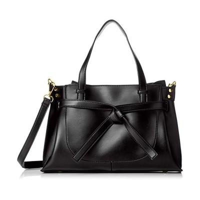 ポンポンルージュ くったりした柔らか素材とシンプルリボンがフェミニンなバッグLVIRA-リヴィラ- 82831 ブラック