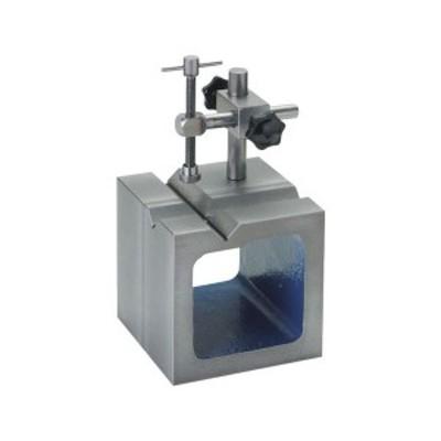 鋳鉄製V溝付桝型ブロック 100mm SK SBV100T-8702