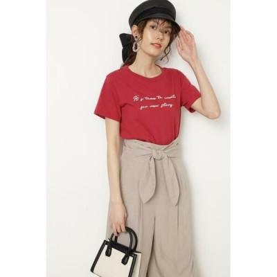 JILLSTUART / ジルスチュアート ◆メッセージTシャツ