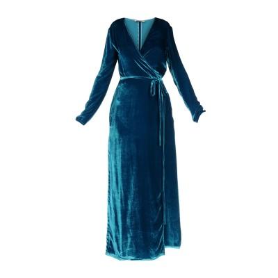 アティコ THE ATTICO ロングワンピース&ドレス ディープジェード 0 レーヨン 82% / シルク 18% ロングワンピース&ドレス