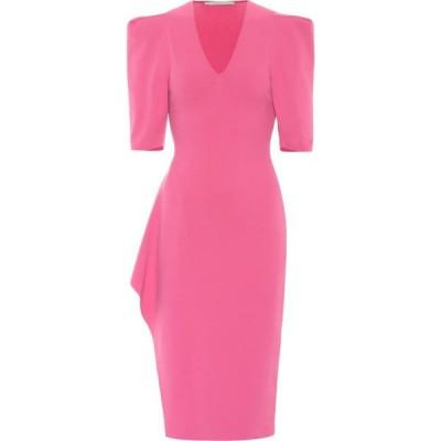 ステラ マッカートニー Stella McCartney レディース パーティードレス ミドル丈 ワンピース・ドレス Compact-knit midi dress B/Pink