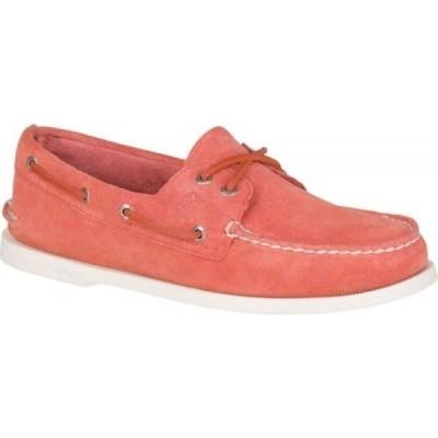 Authentic Original 2-Eye Summer Boat Shoe Red Orange