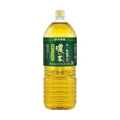 伊藤園 お〜いお茶 濃い茶 1ケース(2L(2000ml)×6本入)