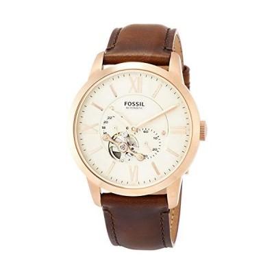 [フォッシル] 腕時計 自動巻き腕時計 TOWNSMAN AUTOMATIC ME3105 メンズ 正規輸入品