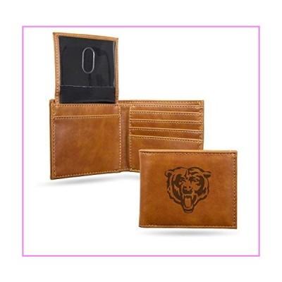 NFL Rico Industries Laser Engraved Billfold Wallet, Chicago Bears【並行輸入品】