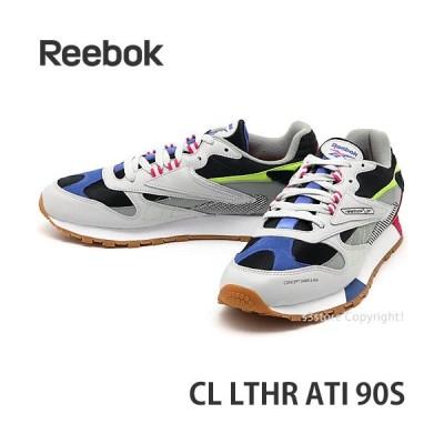 リーボック クラシックレザー REEBOK CL LTHR ATI 90S スニーカー シューズ メンズ Alter The Icons ベクターロゴ Col:S.Grey/T.Grey/Black