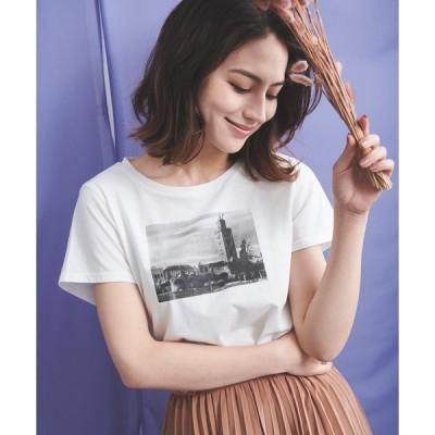 【ノエラ】モロッコプリントTシャツ