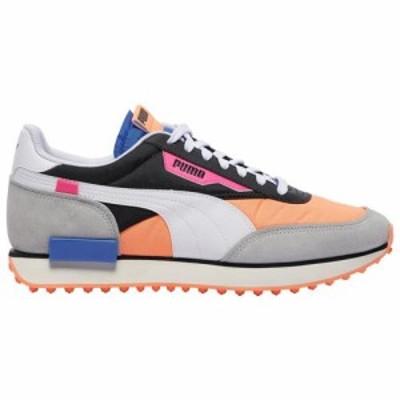 (取寄)プーマ メンズ シューズ プーマ フューチャー ライダー  Men's Shoes PUMA Future Rider  Black Fizzy Orange