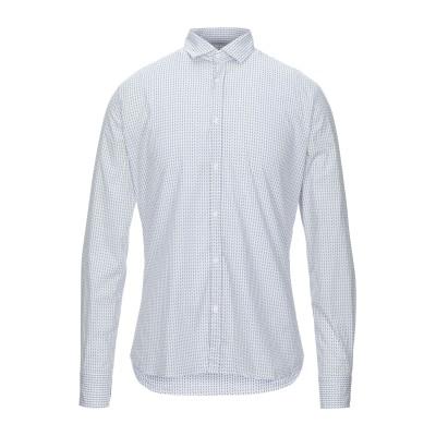 アリーニ AGLINI シャツ ホワイト 41 コットン 97% / ポリウレタン 3% シャツ